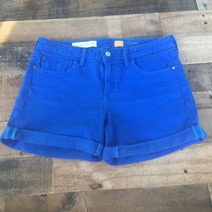 Pilcro and the Letterpress Stet Shorts 27 Blue